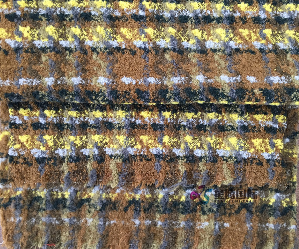 Tweed Fabric For Fashion Coat