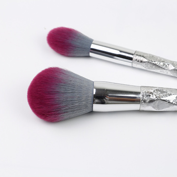 5 Stück Shiny Plastic Handleand Makeup Brush Kit
