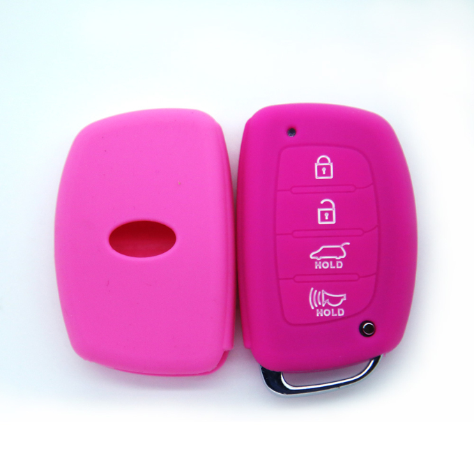 Silicone Gel Honda 4buttons Key Cover