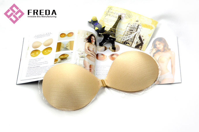 Thick Sponge Silicone Push Up Strapless Bra