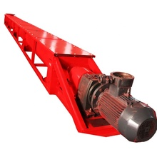 Wood chips screw conveyor