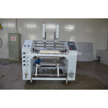 Pag-unat sa Film Jumbo Roll To Small Roll Rewinding Machine