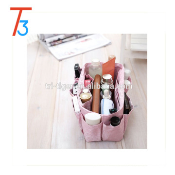 Handbag Pouch Bag in Bag Organiser Insert Organizer Tidy Travel Cosmetic bag multi Pocket