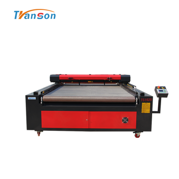 Auto Feed Cloth Fabric Laser Engraver Cutter 1620