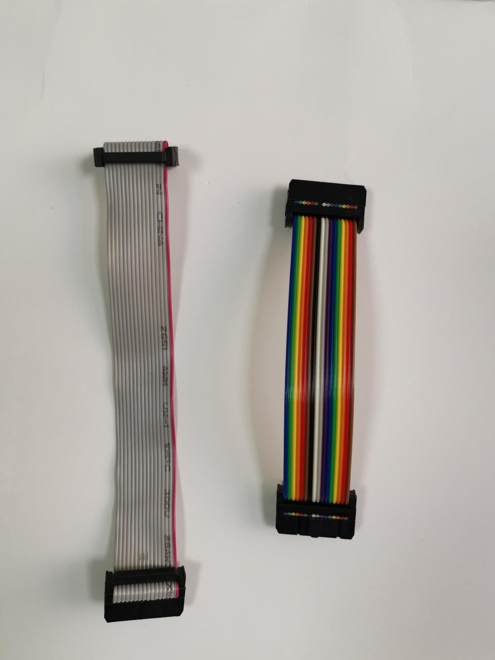 Ribbon Cable And Power Cable