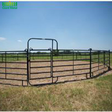Used Heavy Duty PVC Livestock Horse Fence Panels
