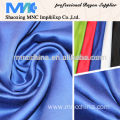 100% shining rayon dyed satin fabric for dress