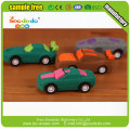 3d car eraser for kids make up eraser