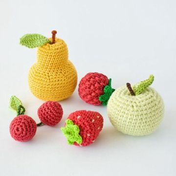 New Design Colorful Crochet Knitted mini Toy