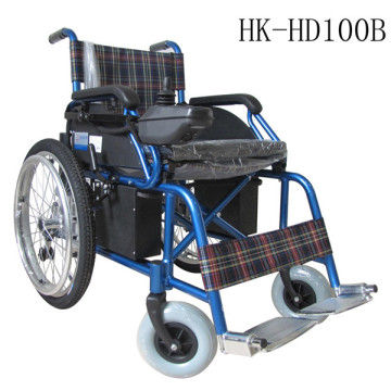Aluminum alloy electric foldable multifunctional wheelchair
