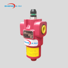 Hydraulic oil pressure filter housing and cartridge