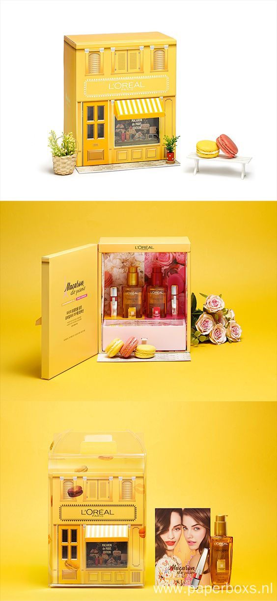 Luxury Paper Cosmetics Display Boxes