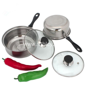 Stainless Steel Milk Pot Cooking Pot With Hole