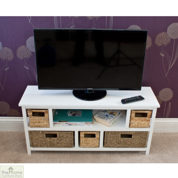 Seagrass Basket Cheap Sala De Estar De Madeira TV Cabinet Designs