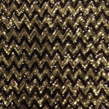 European Fancy Shiny Geometry Sequins Embroidery Fabric