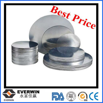 0.4mm-5.0mm 1050 Aluminum Disk Wafer O