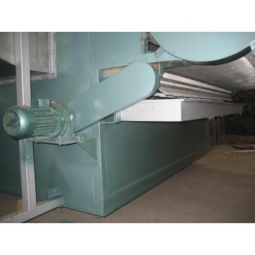Chinese medicine extract vacuum conveyor belt dryer