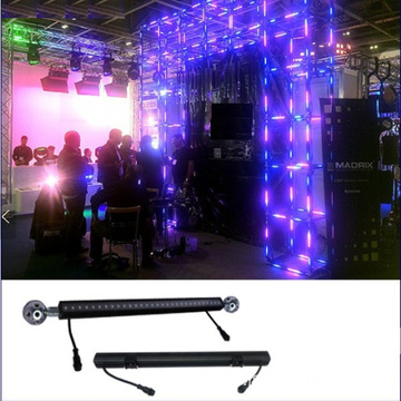 Leds 42Pixels DMX512 RGB Triangle 3D Bar