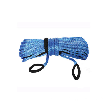high strength synthetic electric winch rope