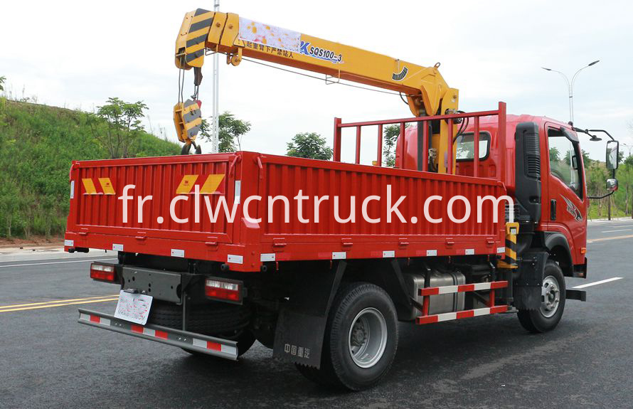 tipper crane truck for sale 3