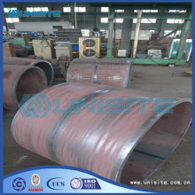 Wear resistant steel loading piping
