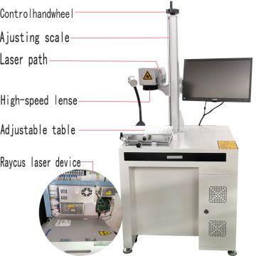 3 Years Warranty Jinan Factory Laser Marking Machine