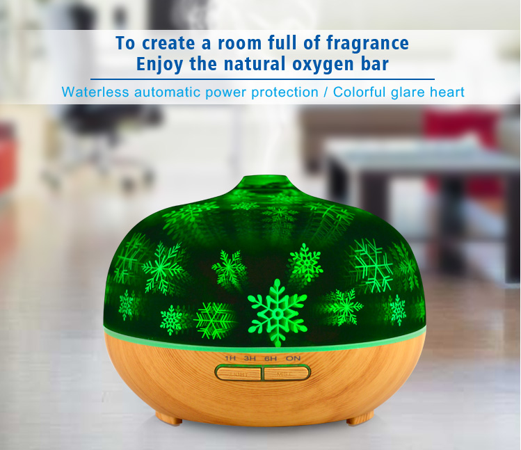 3d Glass Aroma Diffuser