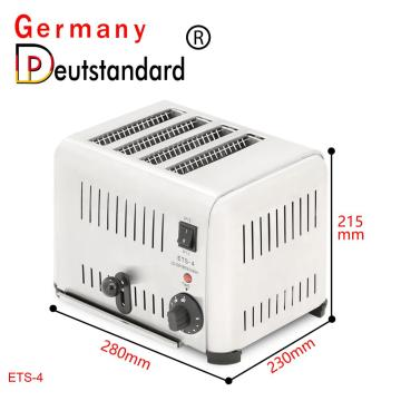 4-Slice 1800W Commercial Automatic Toaster
