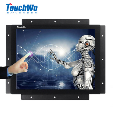 Industrial Embedded 19 inch capacitive touch pc