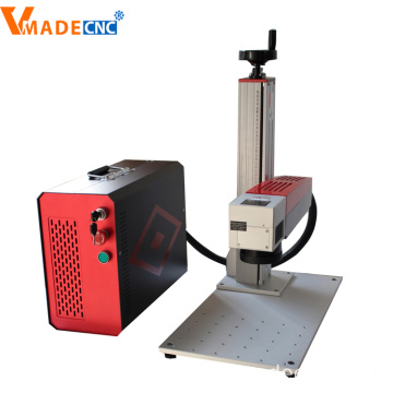 100W deep fiber laser marking machine