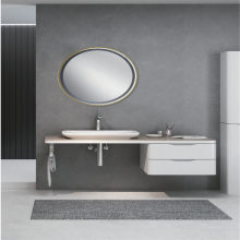 Rectangular LED bathroom mirror MR11