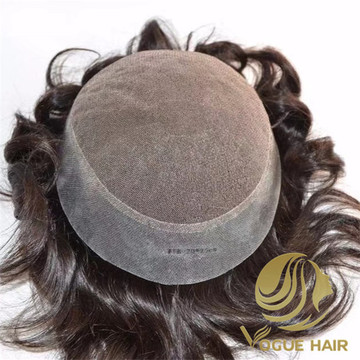 Top best remy human men toupee