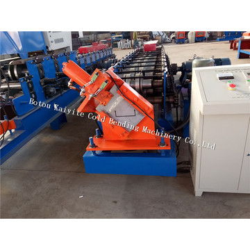 Galvanized U Shap Profile Section Purlin Machine