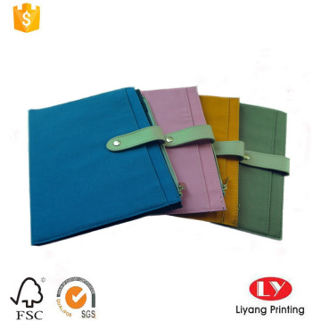 Fancy Fabric Cover Notebook Printing