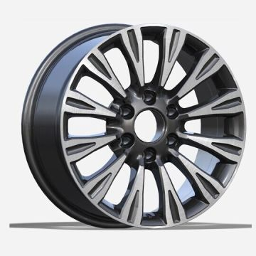 Alloy Nissan Replica Wheel 17x8 6x139.7 Gunmetal