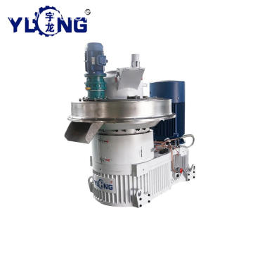 YULONG agri cotton stalk pellet machine
