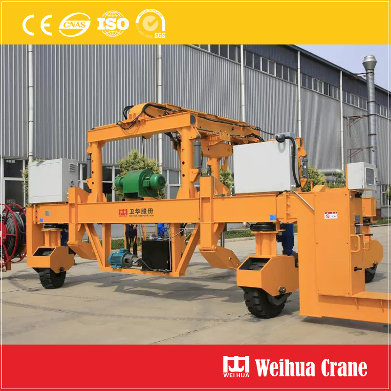 Rubber Tyre Railway Laying Machine