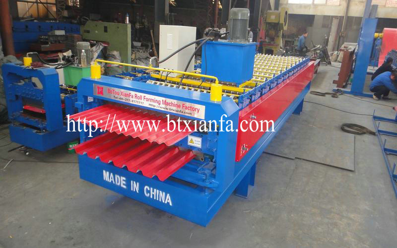metal roofing making machine