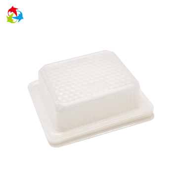 OEM design disposable PP plastic blister food tray