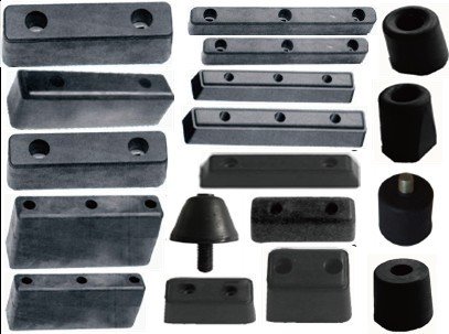 Solid Rubber Buffer Blocks