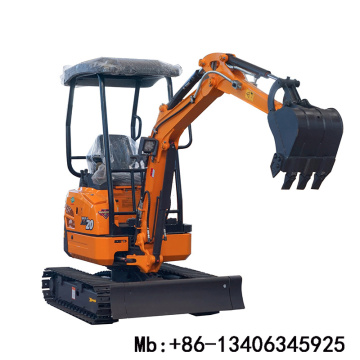 New type 2ton mini excavator with attachments