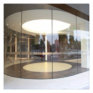 Bent Tempered Laminated Insulated Glass For Shopfront