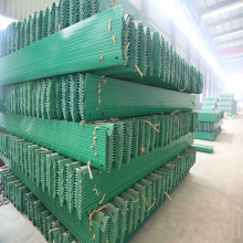 Prepainted Metal Two Wave Galvanized Guardrail