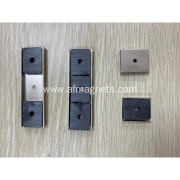 Ferrite Channel Mounting Magnets