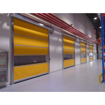 Automatic PVC High Speed Rolling Shutter Door