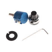 1PCS Rotary Wire Wound Precision Potentiometer 3590S-2-503L 50K Resistor Ohm