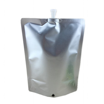 Custom reusable anti-static aluminum foil standing pouch bag
