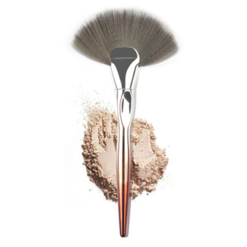 Single fan brush powder blush foundation brush OEM