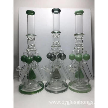 Glass Bongs with Multiple Filters Vortexs and Recyclers