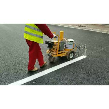 cold paint airless spray used road marking machine equipment